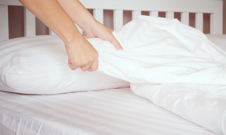 """การเลือก """"ผ้าปูที่นอน"""" เราควรเลือกจากอะไร"""